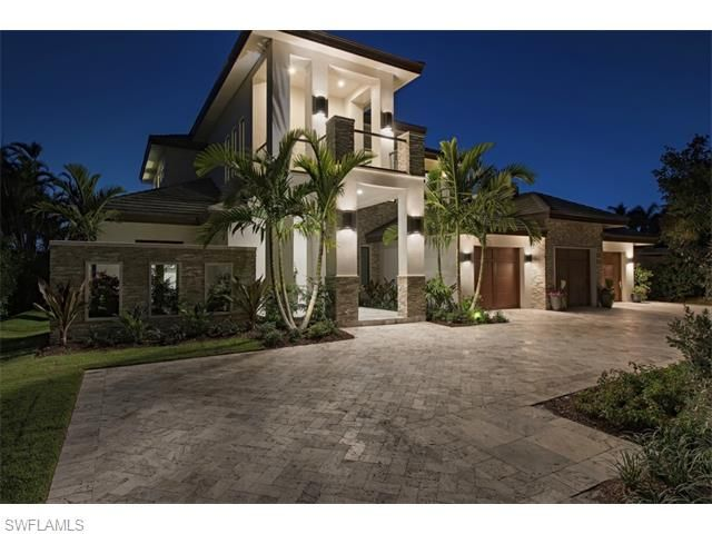 875 Wedge Dr Naples Fl 34103 Newly Completed Furnished Modern