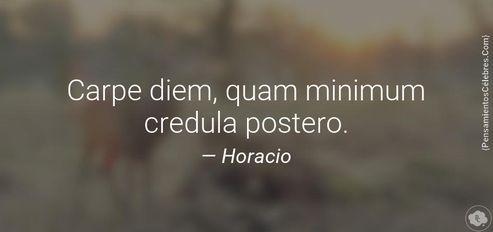 Carpe diem quam minimum credula postero tattoos pinterest carpe diem quam minimum credula postero altavistaventures Image collections