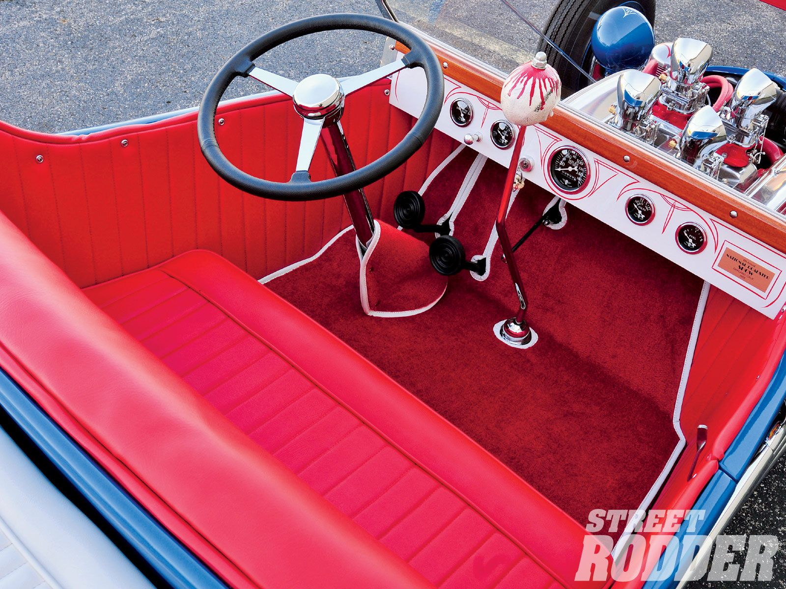 1922 Ford T Bucket Interior By Tony Nancy Finished The
