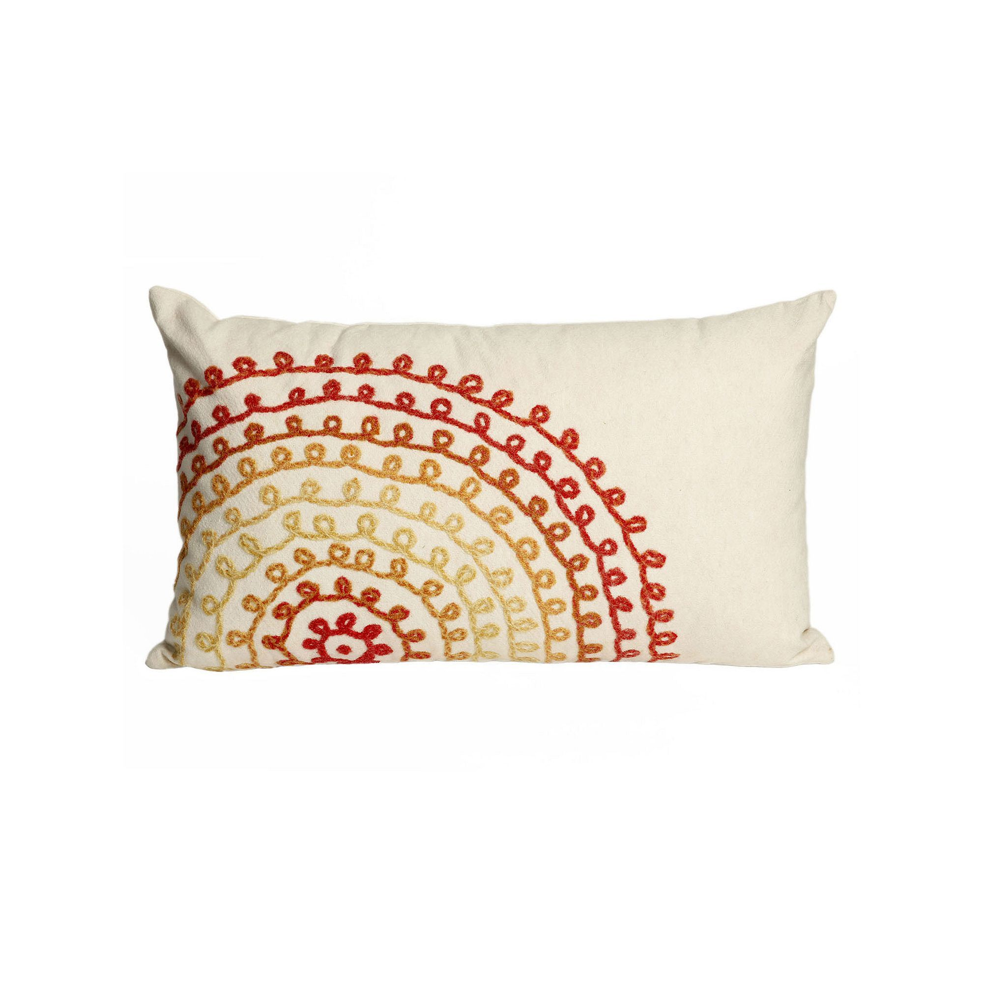 product lumbar shipping indoor pillow today free outdoor with garden tangerine of pillows overstock set inch x orange corded home fabric sunbrella