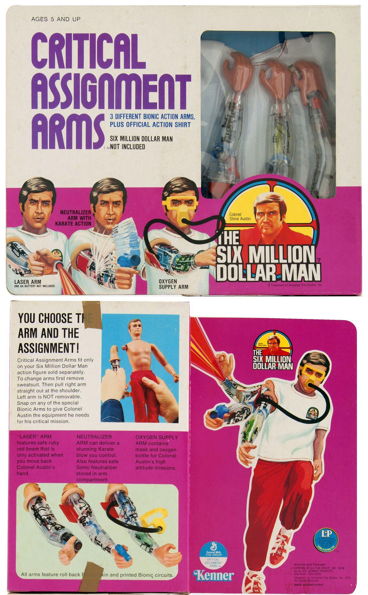 1977 The Six Million Dollar Man Critical... Raiders of