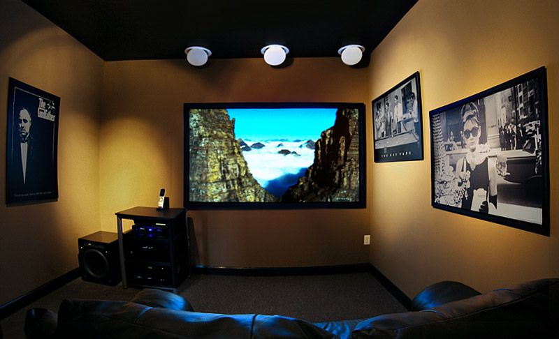 Home Theater Designs For Small Rooms