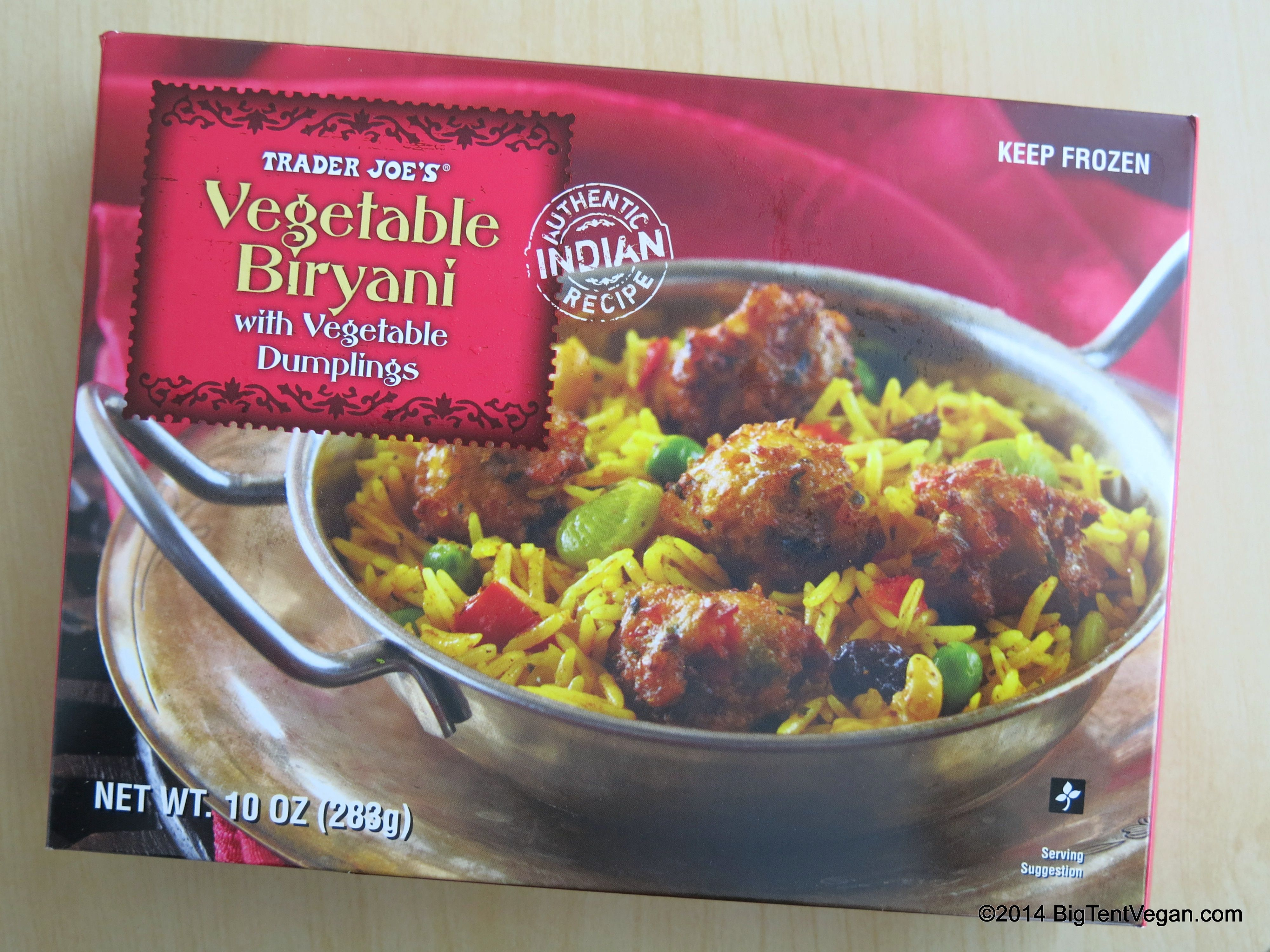 Vegetable Biryani With Vegetable Dumplings Vegetable Dumplings Trader Joes Vegan Biryani