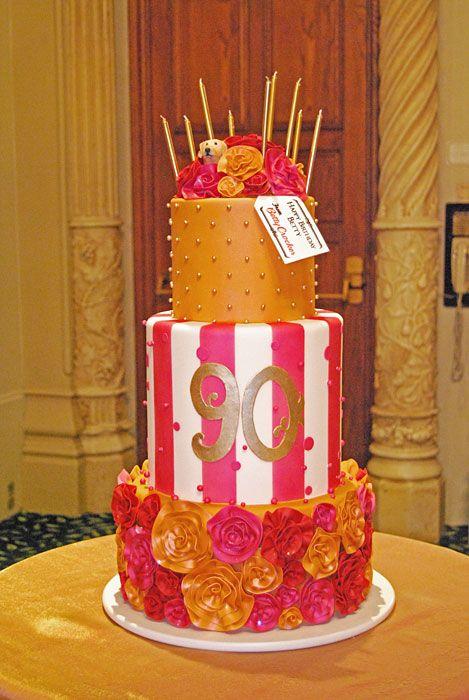 Betty Whites 90th Birthday Cake
