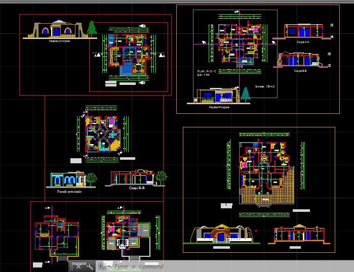 Villa Dwg Download Images Projects To Try Villa Plan
