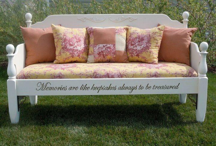 padded bench