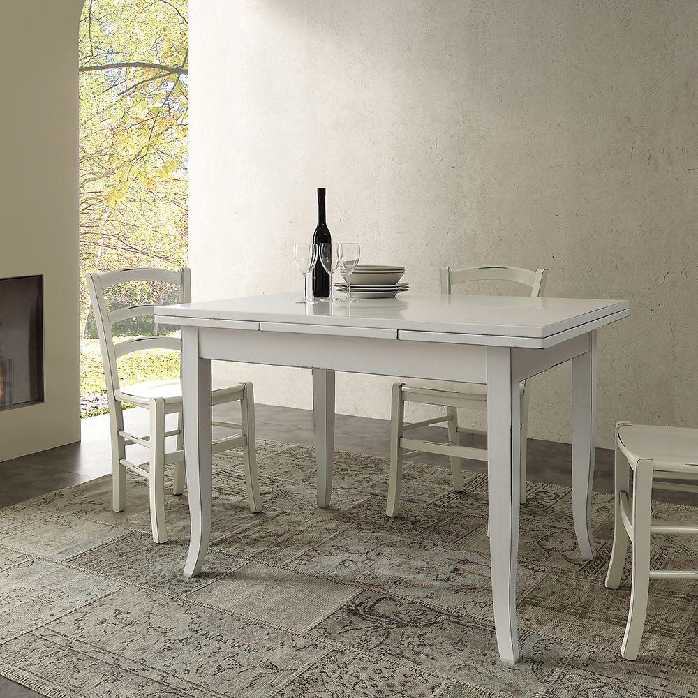 Risultati immagini per tavolo cucina bianco allungabile