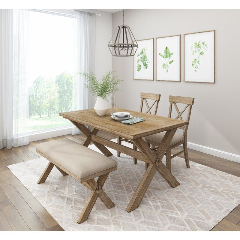 White Cane Outdoor Furniture, Auti 4 Piece Counter Height Dining Set In 2020 Solid Wood Dining Chairs Counter Height Dining Sets Furniture