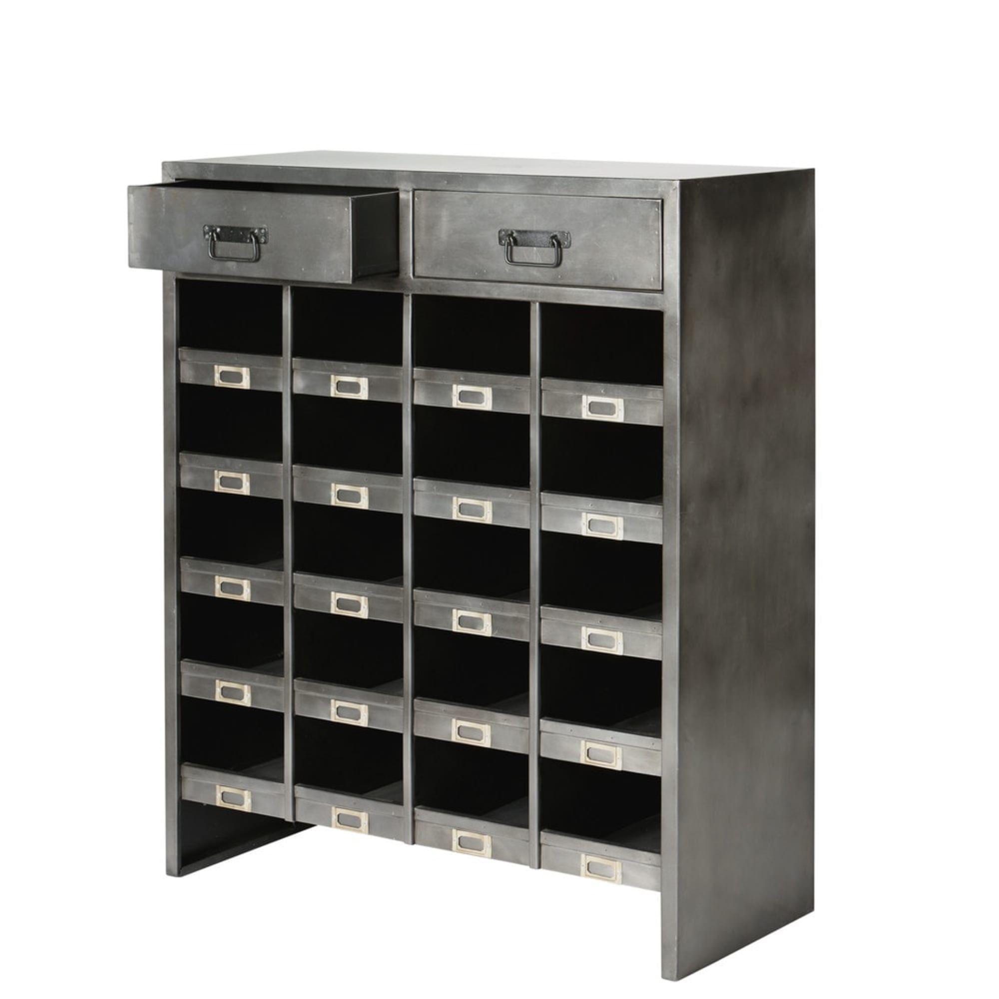 Cabinet De Rangement En Metal L 90 Cm Maisons Du Monde En 2020 Cabinet De Rangement Cabinet Rangement