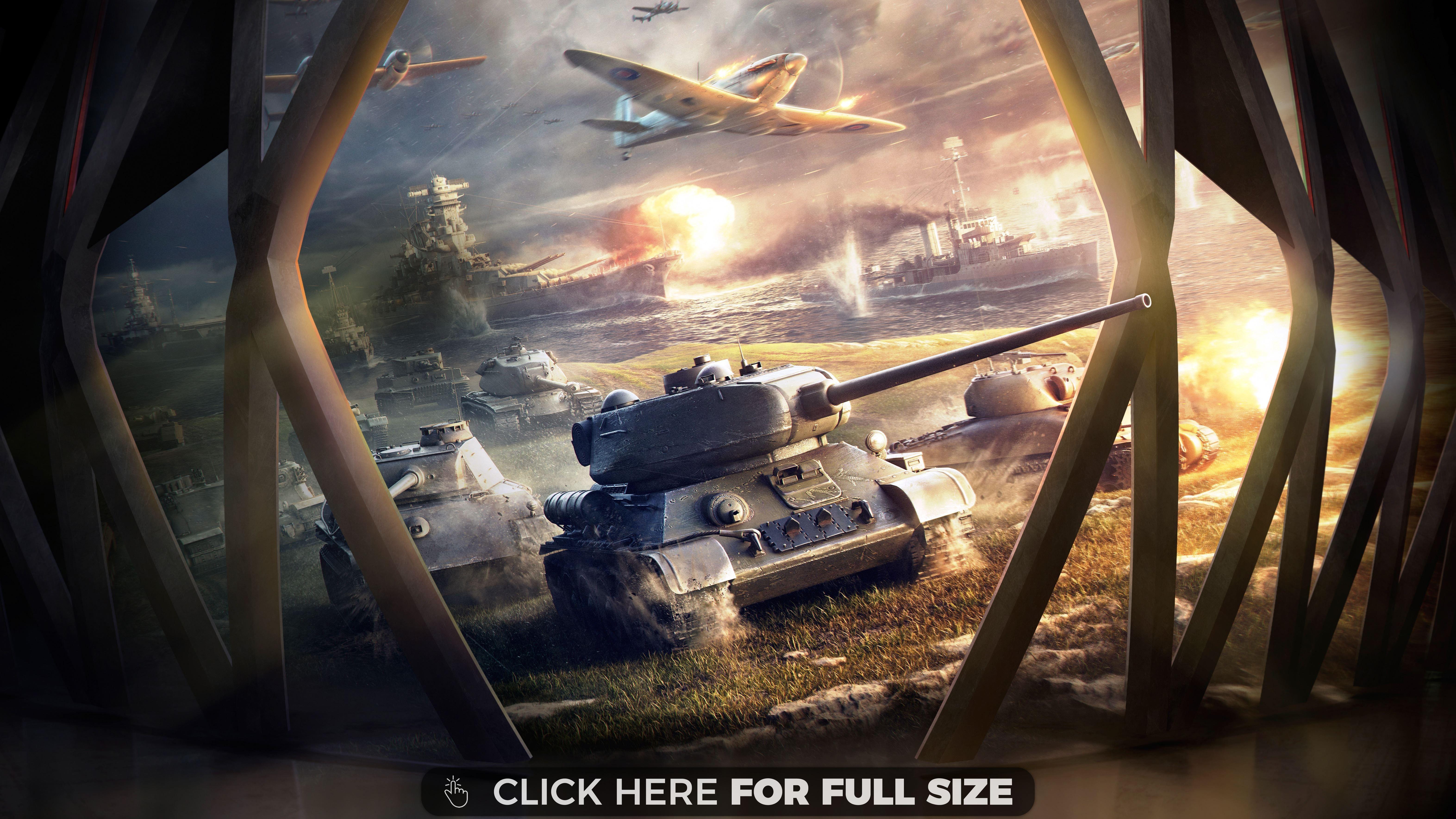 World Of Tanks Blitz Hd 4k