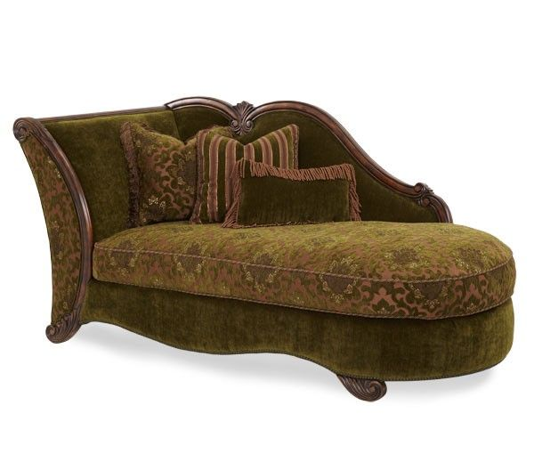 Palace Gates Chaise By Aico From, Four States Furniture Texarkana