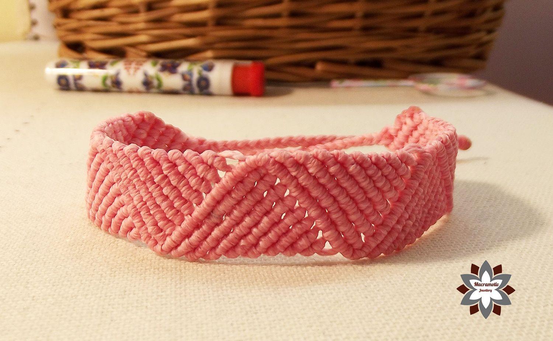 Macramotiv micromacrame knotted bracelet tutorial diy bracelets