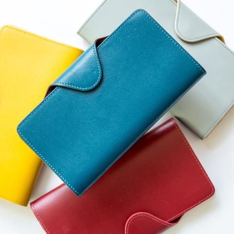 b3ce27682 Coloured Leather Purse   Berylune Accessories   Leather purses ...