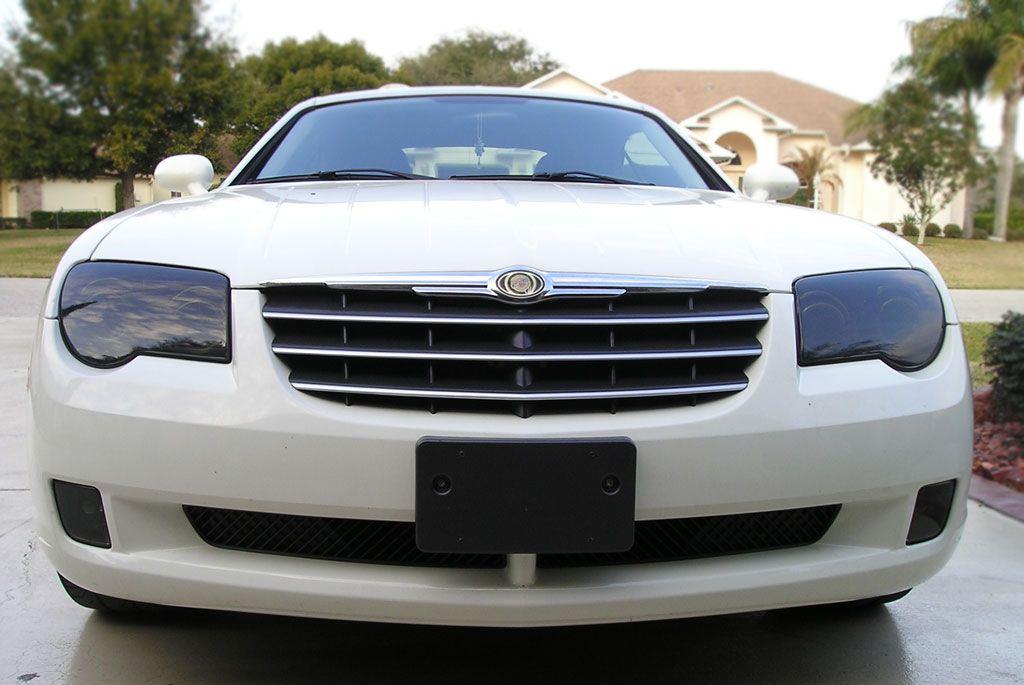 Chrysler Crossfire Headlighttint Headlight Covers Rvinyl Com