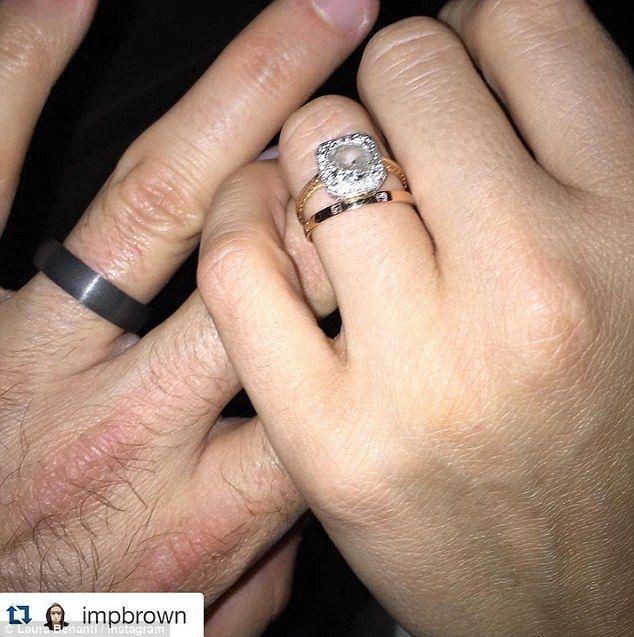 Supergirls Laura Benanti marries Patrick Brown in NYC Brown