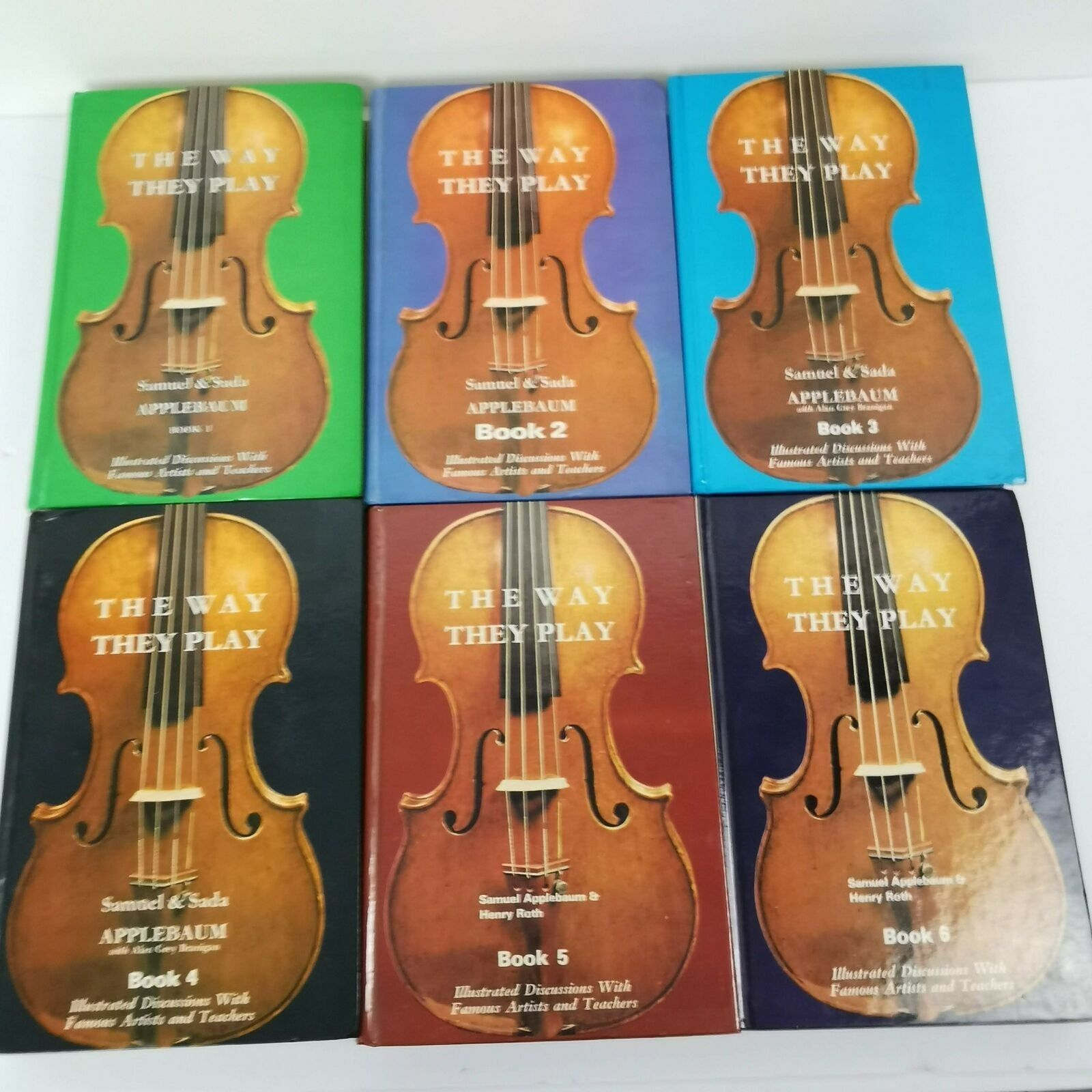Samuel Applebaum The Way They Play Lot Of 6 Books 1 2 3 4 5 6 Etsy In 2020 Violin Book 1 Books