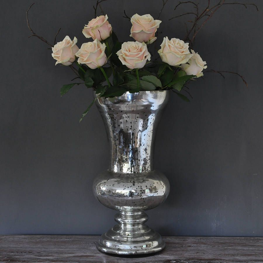 Large antique silver urn vase by primrose plum large antique silver urn vase by primrose plum notonthehighstreet reviewsmspy