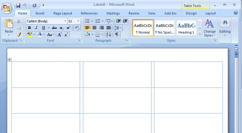 Microsoft Word Address Labels Template How To Create Mailing Labels In Word Address Label Template Label Templates Printing Labels