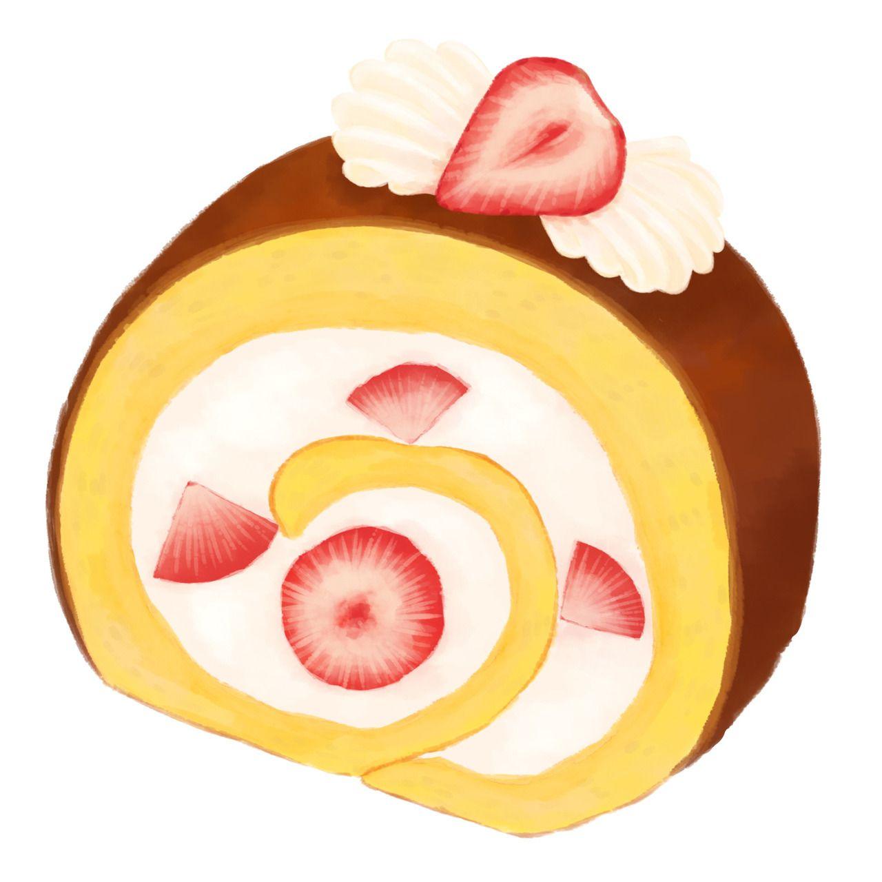 ロールケーキ Swiss Roll Roll Cake ロールケーキ スイスロール