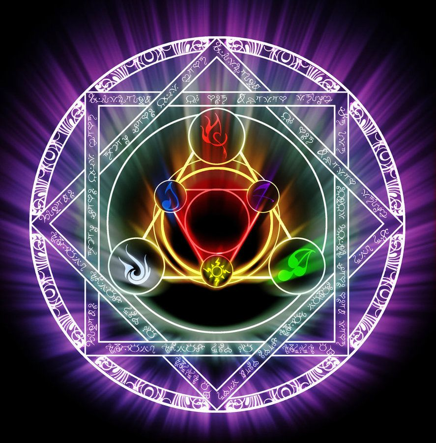 Elemental sigil by Darla-Illara on DeviantArt | Language ...