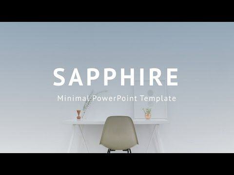 Stock Powerpoint Templates - Free Download Every Weeks Sapphire - elegant powerpoint template