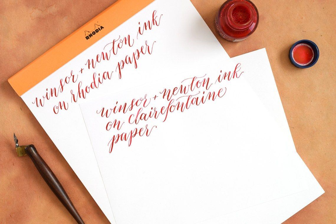 The Best Calligraphy Papers For Practice And Projects The Postman S Knock Calligraphy Paper Paper Paper Template