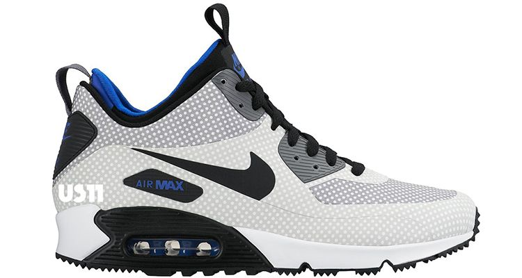 With a neoprene inner sleeve and a raised cut, the Nike Air Max 90 Mid  SneakerBoot has been part of the Nike Sportswear lineup since The well  insulat