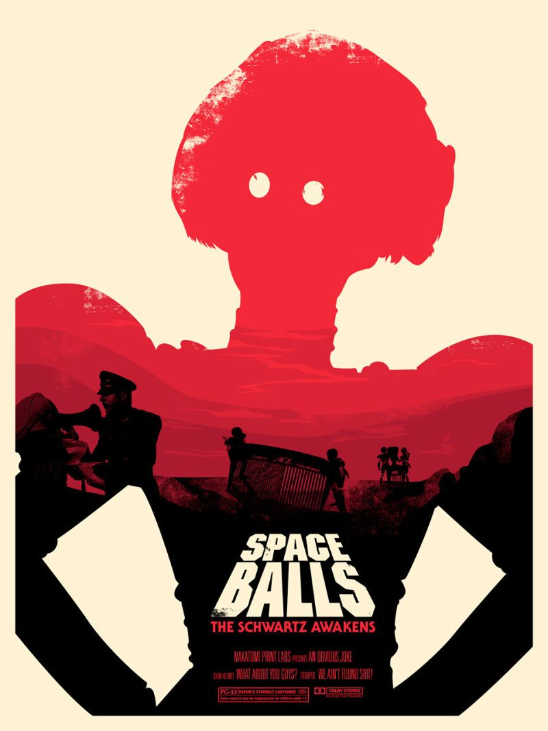 Of Course These Excellent New Spaceballs Posters Spoof a Set ofStar Wars Posters