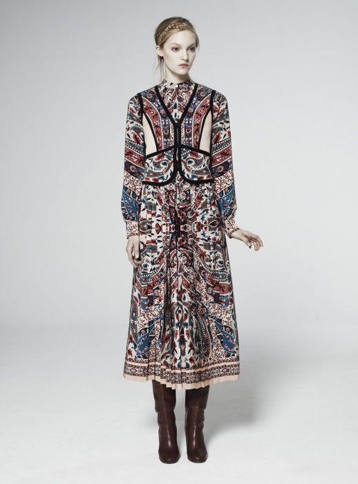 Vilshenko Autumn Winter 11 12 Lookbook Russian Fashion Fashion Folk Fashion