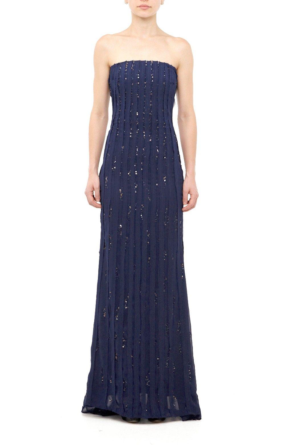 Bellini Sequins Gown - Sequins - Dresses