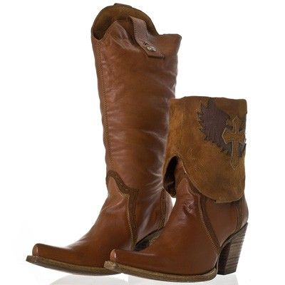 Cowgirl Clad Company - Corral Vintage Wing and Cross Brown Cowgirl Boot C2213, $250.00 (http://www.cowgirlclad.com/corral-vintage-wing-and-cross-brown-cowgirl-boot-c2213/)