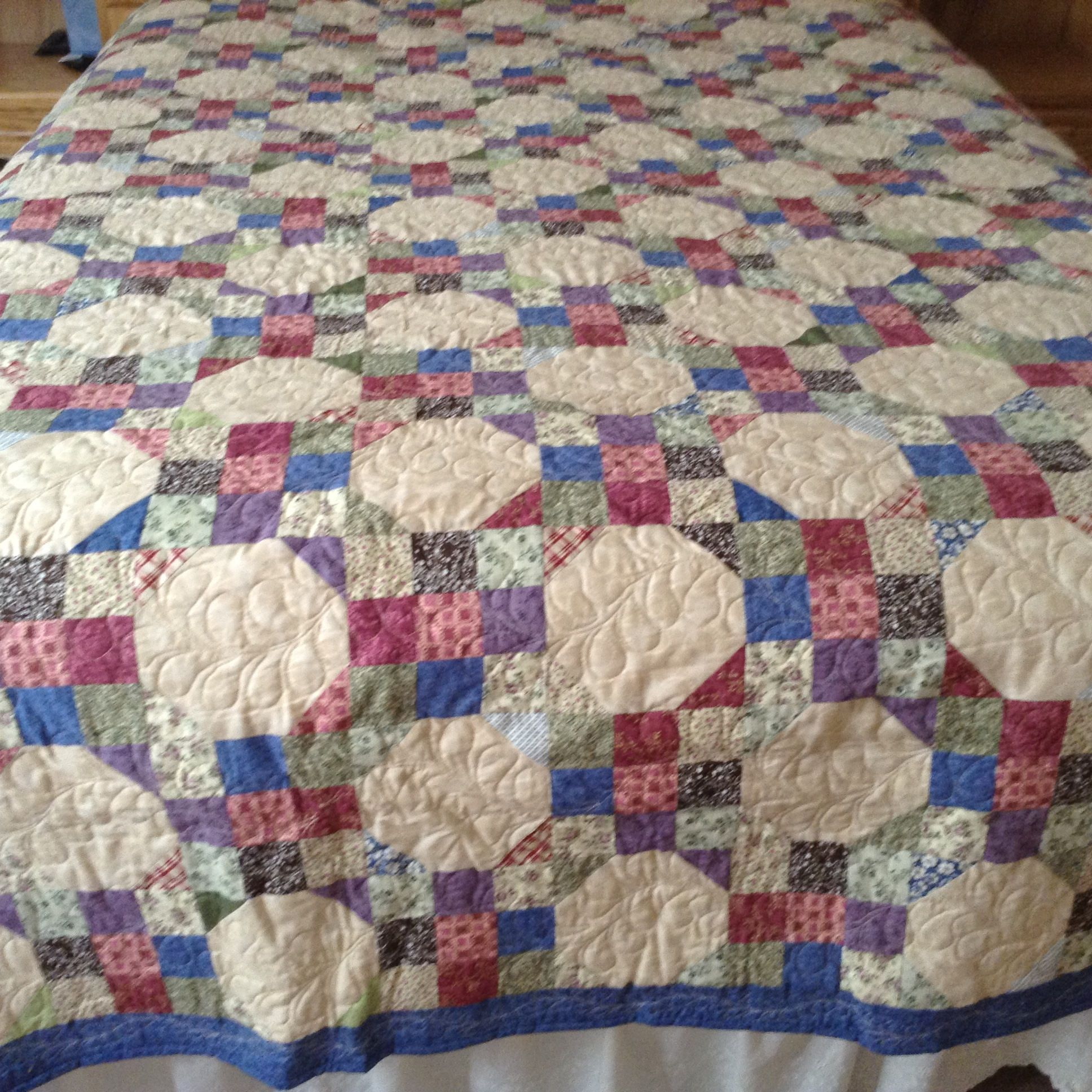 shangri trip around size la bed pin pattern quilt queen lap