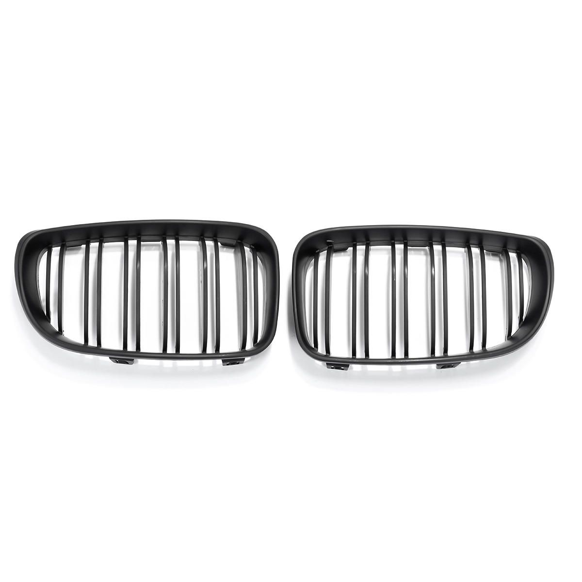 Matte Black Front Kidney Grill Grille For BMW E87 1 Series 0…