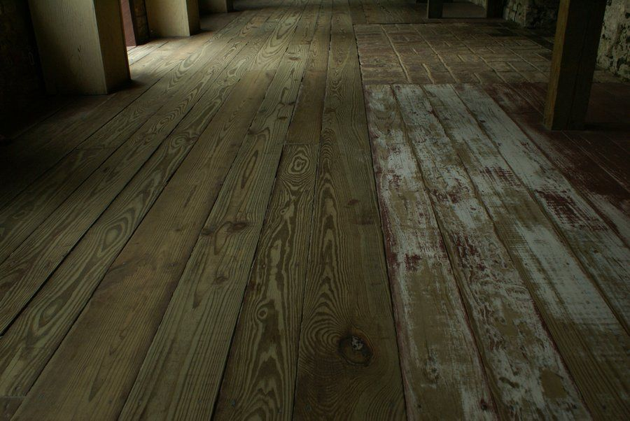 Old Wood Floor By Madhoshistock