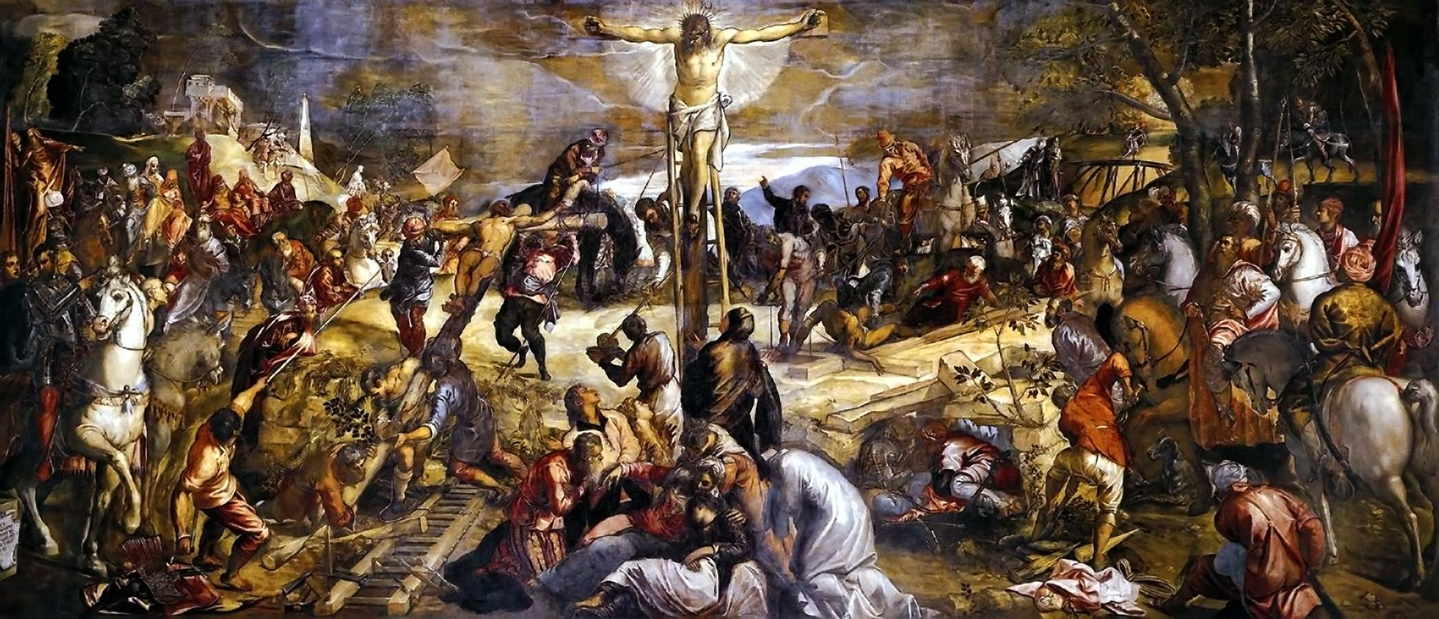 Image result for jesus crucified renaissance paintings