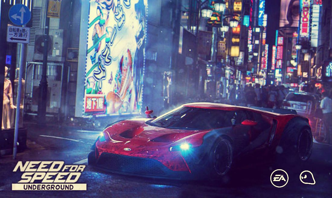 Need For Speed Underground 3 Fan Art | Need For Speed | Pinterest | Cars, City car and Ford GT