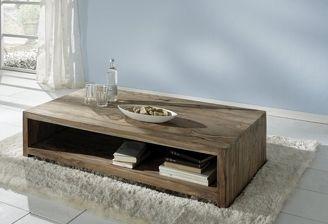 Table basse en bois de rose Zen table basse Pinterest Salons