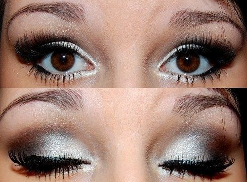 Pix For Silver Prom Makeup Tumblr Wedding Makeup Pinterest
