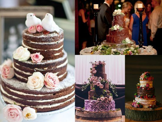 chocolate-rustic-wedding-cakes.jpg (550×415)