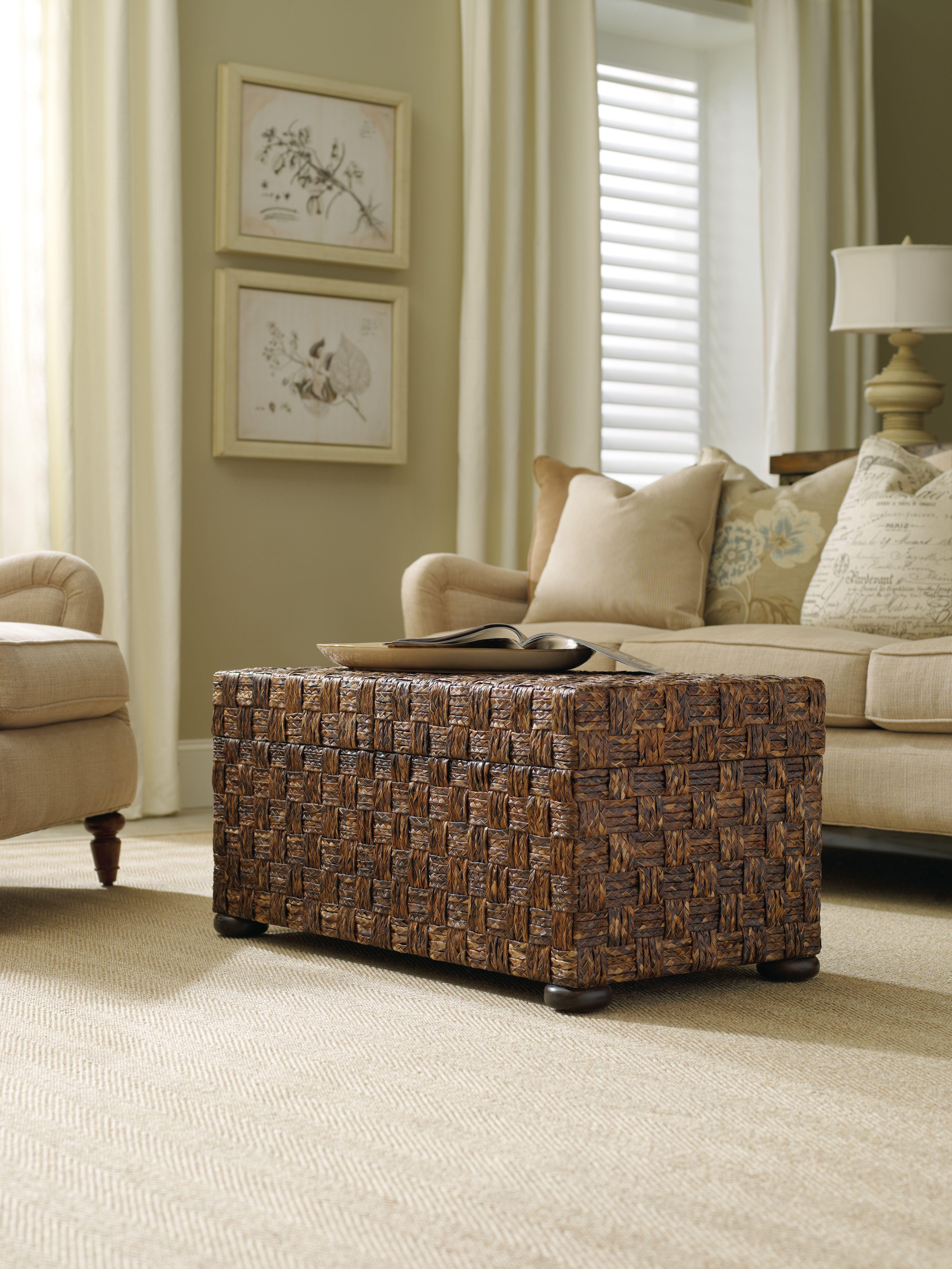 Hooker Furniture Abacca Sliding Top Trunk 500 50 865