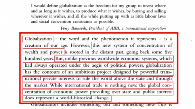 "Boken ""Juggernaut Politics: Understanding Predatory Globalization"" - Utgitt i 2003"