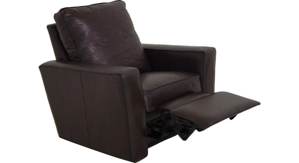 Tuxedo Leather Recliner Leather Recliner Recliner Furniture