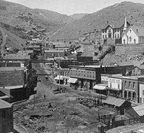 Blackhawk Co With Mines In The Background Mining Towns