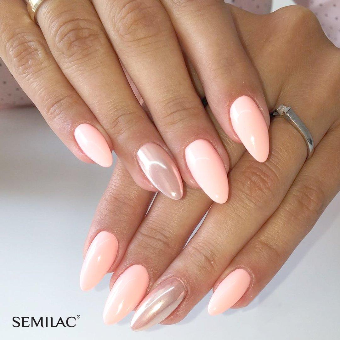 Photo of pastell nails, metallic nails, summer nails, wedding nails