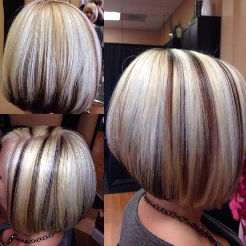 Blonde Hair With Brown Streaks Hair Curly Hair Styles