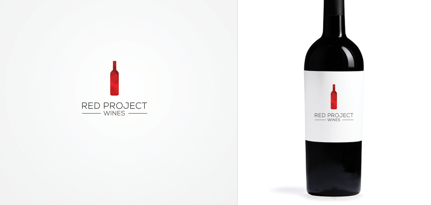 Red Project Wines by pixelshifter via 99designs