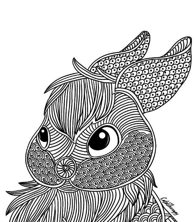 Pin de anita hathaway en COLORING | Pinterest | Mandalas y Animales