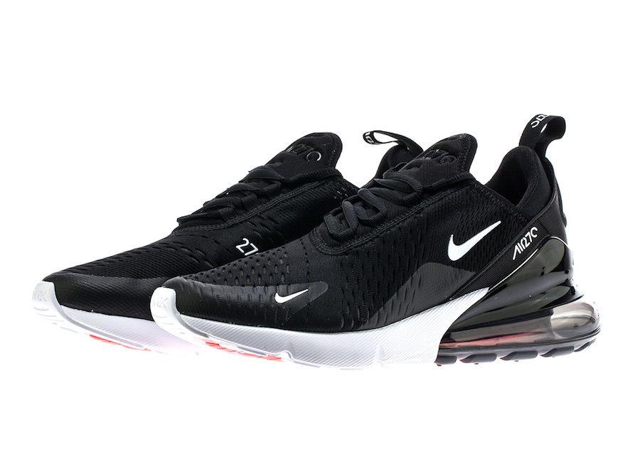 Chaussures Hommes Nike Air Max 270 AH8050 002 NoirBlanc en