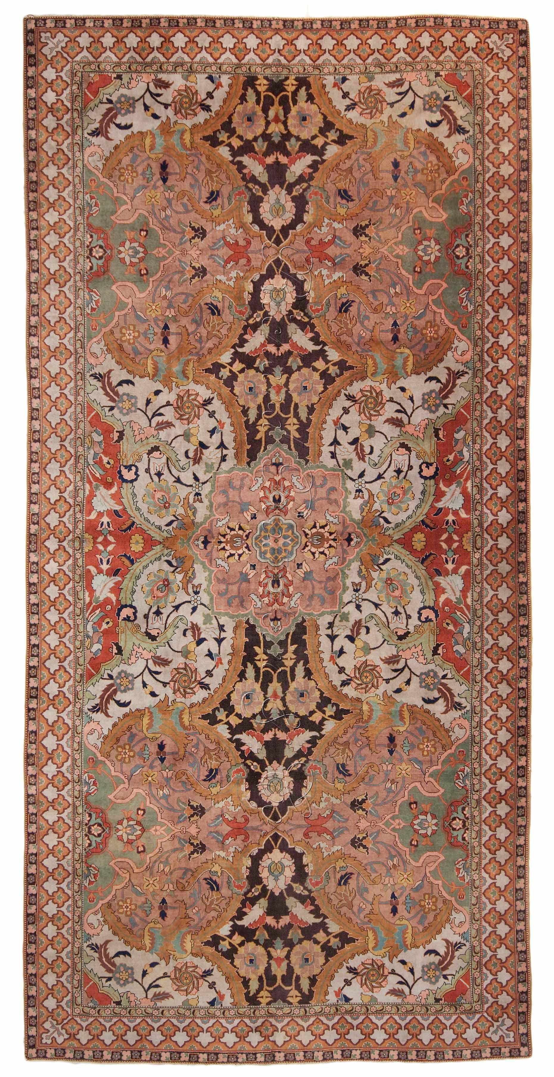 Polonaise antique oriental rugs - Antique Polonaise Oriental Rug Antrr91284