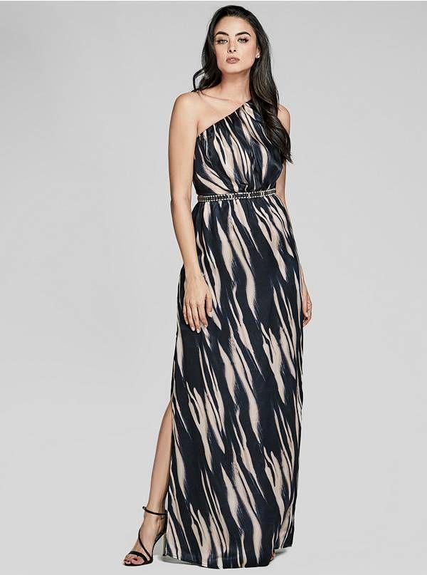 74G8338562ZFW93 Black tie wedding guest dress, Silk